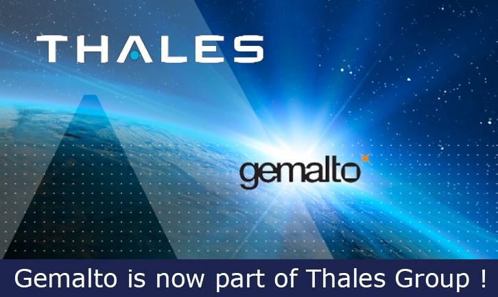 Gemalto加入Thales大團隊,將資安延伸至五大市場