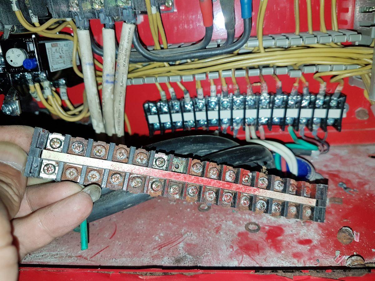 1080615消防控制盤零件更新7
