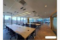 現成裝潢玻璃帷幕大樓大面落地窗三面採光-3