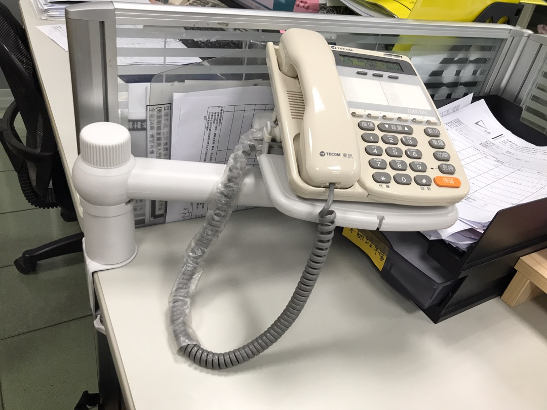 旋轉電話架